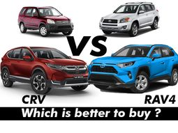 A used Toyota RAV4 or Honda CR-V? which one is a better option in Nigeria?