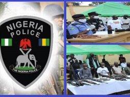 Nigeria police arrests a 9-man cross-border carjacking gang