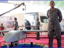 [Photos] Woman who designed Nigeria's 1st military-grade UAV