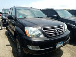 Foreign used 2008 lexus gx460