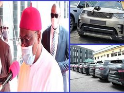 Judges in Rivers State gets brand-new Land Rover SUVs from Governor Wike