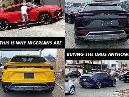 Lamborghini Urus getting very popular in Nigeria! Here is the one reason