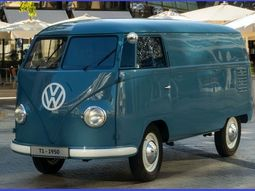 [Photos] See the first unit of the 1950 Volkswagen Transporter T1 bus model