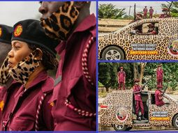 [Photos] Ondo State's branded vehicles for the new Amotekun outfit