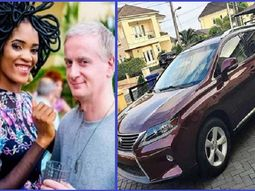 [Photos] Popular Actress Chika Lann gifts husband a new Lexus RX 350
