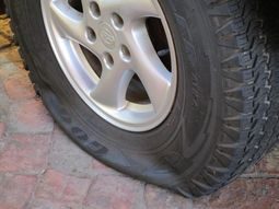 Lagos: Honda Pilot owner shot over deflated tyre by a security guard