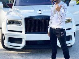 Lil' Pump flaunts his newly acquired ₦154.6m Rolls Royce Cullinan SUV