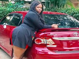 Fast-rising Nollywood actress Chioma Chijioke Anosike gets car gift from hubby