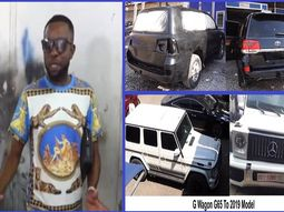 [Video] Talented African mechanic turns old cars into like-new luxury models