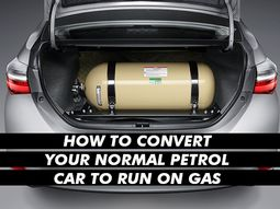 You can convert your petrol engine car to run on home-cooking gas! Here's how