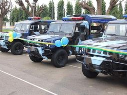 Innoson Motors donates 3 operational vehicles to Nigeria Police