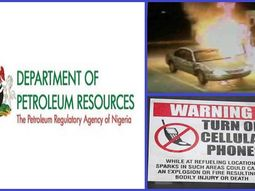 Osun DPR warns Nigerian motorists to stop using phones while refuelling