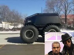 "Kanye West's ₦46.35m Sherpa ""Yeezy Mobile"" birthday gift to 2 Chainz"