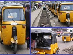 See the list of roads in Port Harcourt where Keke Napep has been banned