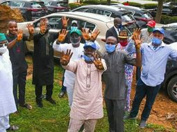 [Photos] Ondo Governor gifts pro-government lawmakers brand-new cars