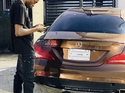 Naira Marley gifts his younger brother a Mercedes-Benz car worth ₦30 million