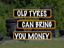 10 ways to make money from old/worn-out car tyres in Nigeria