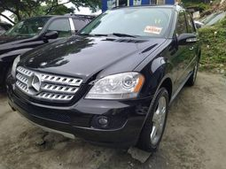 Foreign Used Mercedes Benz ML350 2008 Model full option.