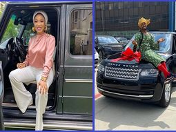 Happy day sees Tonto Dikeh & Oluwakaponeski both take new car