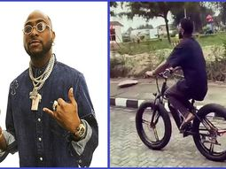 Interest shifted: Check out Davido's brand-new ₦1.3m Mercedes-Benz Bicycle