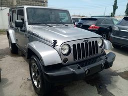 Foreign used 2014 jeep wrangler