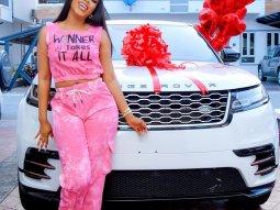 BBNaija Star, Mercy Eke gifts herself a new Range Rover Velar worth ₦20m