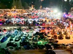 Extreme risk of coronavirus as 3,000 people showed up at small California car show
