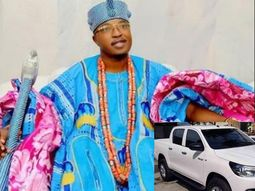 Oluwo's Toyota Hilux van stolen in Lagos - According to aide