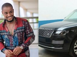 Alex Ekubo gets a surprise gift of Range Rover Autobiography from a friend