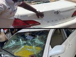 Scores of people injured, vehicles vandalized from the attacks on End SARS protesters in Abuja