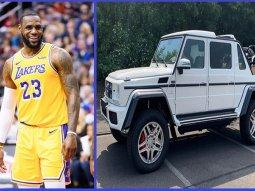 Basketball Star LeBron James acquires a ₦534million Mercedes-Maybach SUV