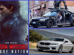 [Video] See Tom Cruise drifting a BMW M5 on the set of Mission Impossible 7