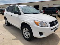 Pure white Toyota RAV4 accident free..