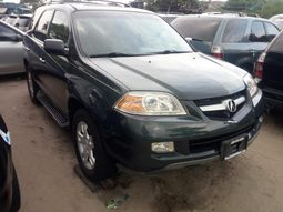 Foreign used 2005 Acura mdx