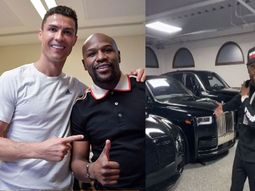 See the moment Cristiano Ronaldo hilariously requested for Bugatti from Mayweather