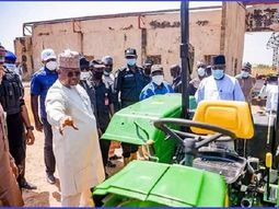 Adamawa state police recover 30 new tractors looted during the recent riot