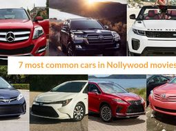 7 most common cars in Nollywood movies & Why always them?