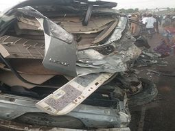 5 people feared dead in multiple accidents in Lagos-Abeokuta Expressway