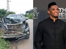 EX-Barcelona star Samuel Eto'o involved in auto crash