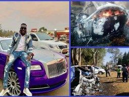 "[Photos] Popular Zimbabwean socialite ""Ginimbi"" dies in a Rolls-Royce crash"