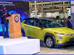 [Video] See the locally-assembled electric car that was unveiled in Lagos