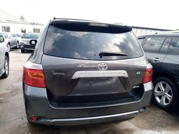 Foreign used 2010 Toyota highlander limited edition
