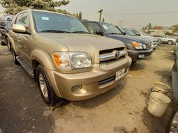 Foreign used 2006 Toyota Sequoia