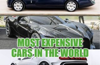 10 most expensive cars in the world 2019 (November), prices & owners