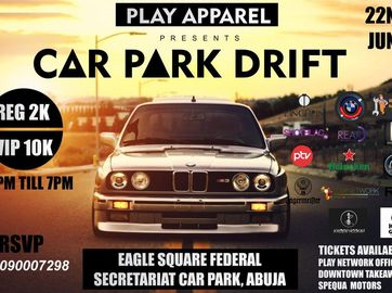 Nigeria's 1st organised Car Drift event held in Abuja this June