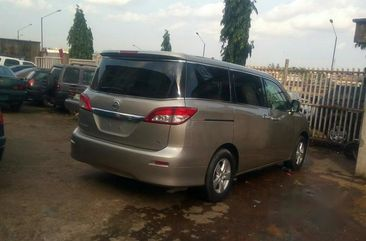 A Clean Tokunbo Nissan Quest 2011 Gold For Sale,