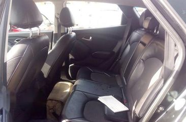 Clean Hyundai ix35 2014 Black
