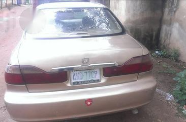 Nigerian Used Honda Accord 1999 Gold