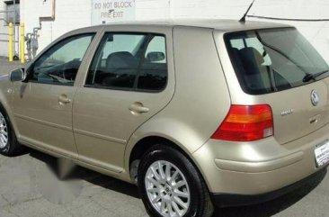 Clean Volkswagen Golf4 1996 Gold