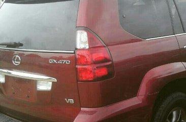 Lexus GX470 2005 Red